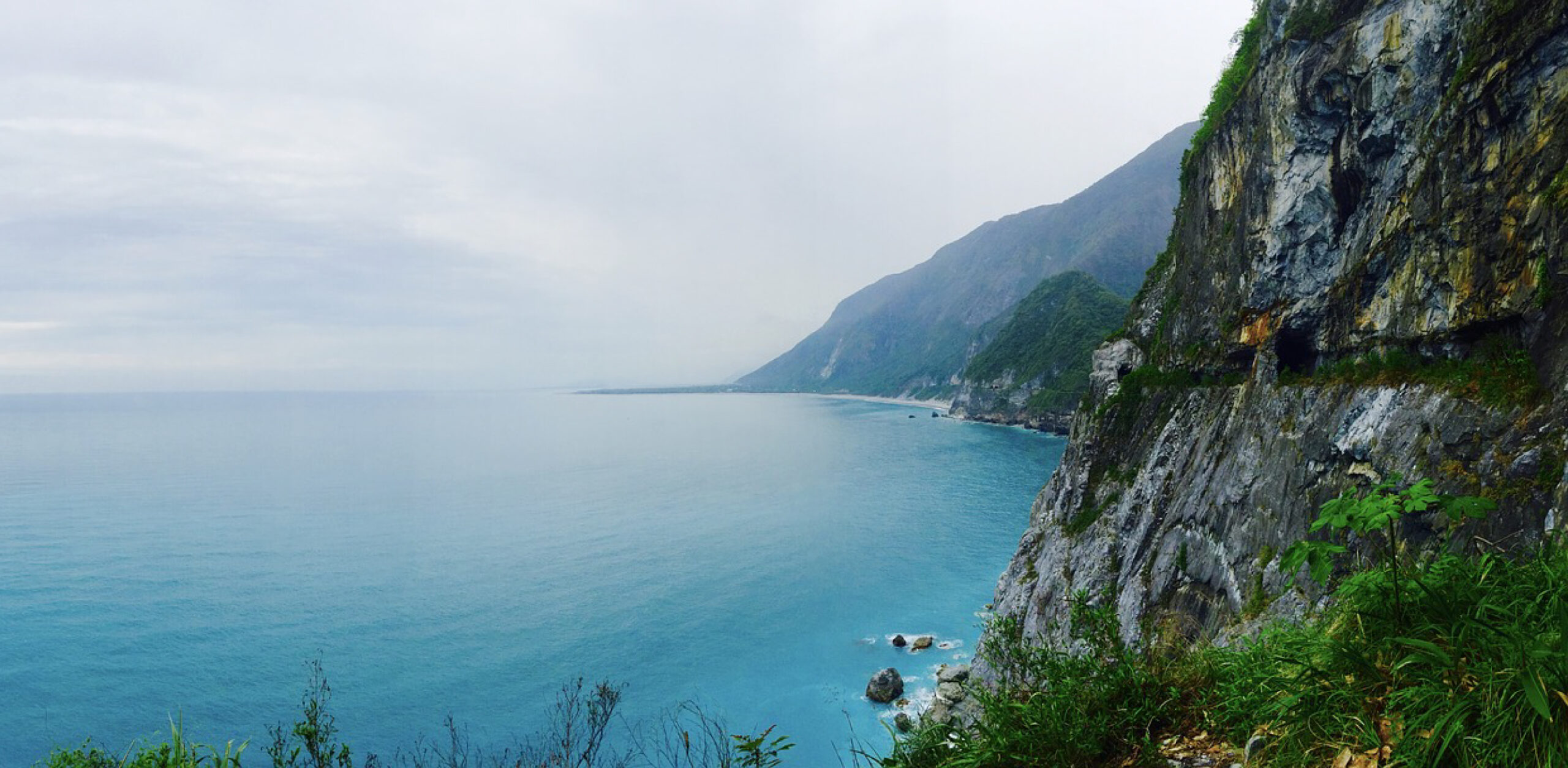 Taiwan ocean coastline